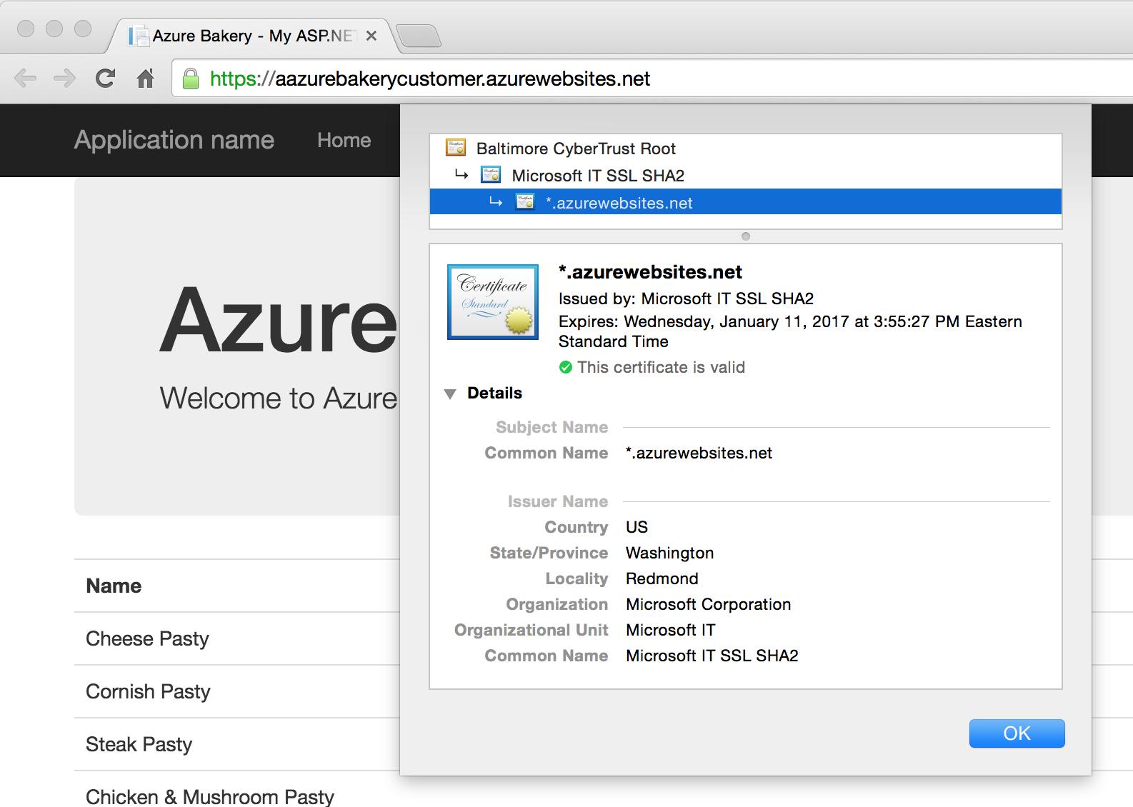Configure Custom Domain Name And Ssl Certificate In Azure Web App