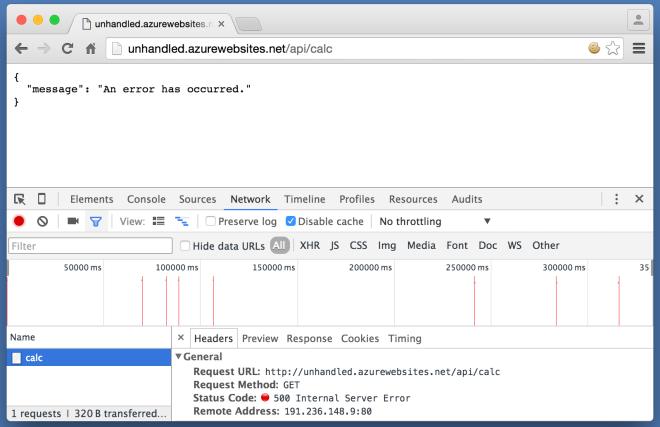HTTP 500 Internal Server Error