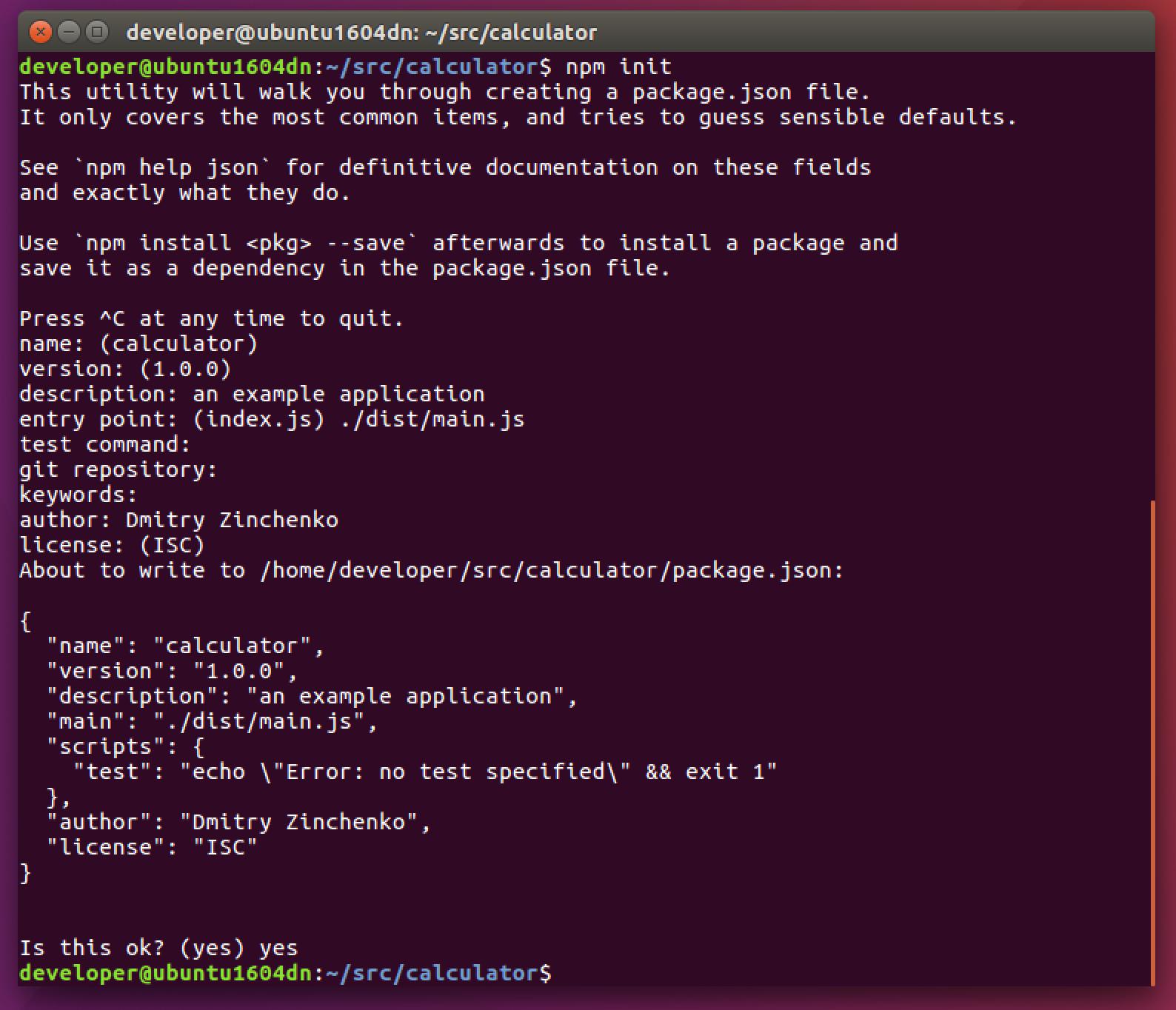 Installing Typescript On Ubuntu Desktop Dmitry Zinchenko